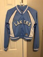 Hardwood Classics Lakers Basketball Vintage Jacket Youth M Authentic! G-III&CARL