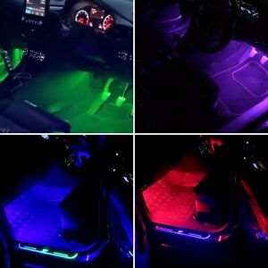 FORD FOCUS MK2.5 & MK3 LED AMBIENT BLUETOOTH FRONT, REAR  LIGHTING KIT