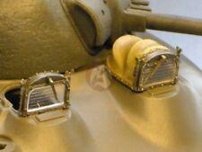 Resicast 1/35 Sherman Tank Bad Weather Visors w/Folded Hoods (& 2 Visors) 352327