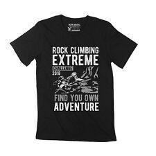 ULTRABASIC Homme T-shirt D'escalade - Mountain Extreme Adventure T-shirt