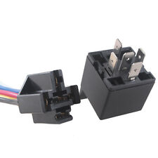 Car Auto Truck 12V DC 40A AMP Relay Socket Plug Power SPDT 5Pin 5 Wire JQ Sales