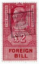 (I.B) George VI Revenue : Foreign Bill £2