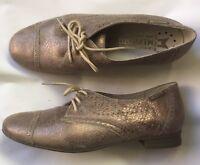 Chaussures lacées MEPHISTO neuves métallisées, 40