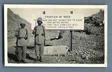 Pakistan, Frontier of India  Vintage silver print.   Tirage argentique d'