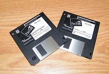 Vintage Thought Communications Fax Talk Messenger Version 3.00 Disc 1 & 2 *READ*