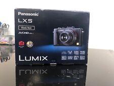 Panasonic Lumix DMC-LX5 10.1MP 3''Screen 3.8x Zoom Next day Delivery