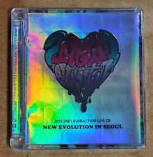 2NE1 2012 GLOBAL TOUR LIVE NEW EVOLUTION IN SEOUL CD SEALED