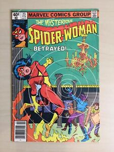 Spider-Woman (Marvel, Feb. 1980 1st Series) #23 Fleisher, Von Eeden, Esposito