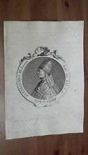 1775 Effigie/Ritratto Papa Alessandro III Rolando Bandinelli Pontefice (Siena)