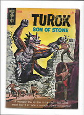 "TUROK, SON OF STONE #46 [1965 GD-VG] ""THE HIDDEN MONSTER"""