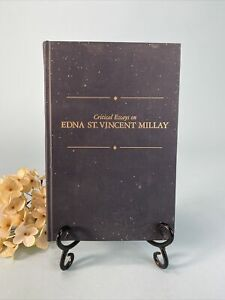 Critical Essays on Edna St. Vincent Millay Hardcover William B. Thesing