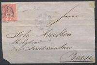 Schweiz 1867 Gestempelt 60% Sitzende Helvetia, 10 C, BERN