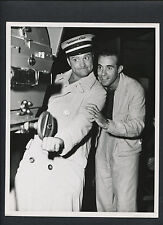 RED SKELTON + RICARDO MONTALBAN WITH A MOTION PICTURE CAMERA - 1950 DBLWT NM CON