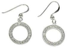 Cubic Zirconia Hook Fashion Earrings
