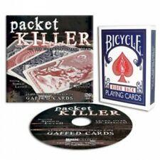 PACKET KILLER - SIMON LOVELL - DVD & GAFF DECK - OVER 40 TRICKS - NEW!