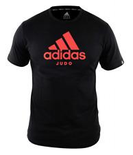"ADIDAS COMMUNITY LINE T-SHIRT JUDO ""PERFORMANCE"" BLACK/SHOCK RED,Gr. S-XL,Judo,"