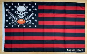 Tampa Bay Buccaneers 3x5 ft Flag Banner Bucs NFL