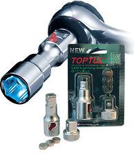 Toptul 3/8 Drive LED Light Extension Socket Adaptor RBAR0203 Lamp