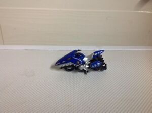 Mighty Morphin Power Rangers Blue Motorcycle Toy Bandai 2003 Bvs MMPR toy