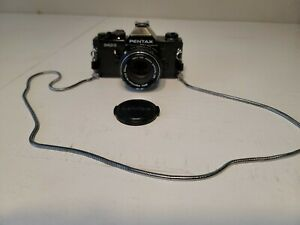 PENTAX MX 35mm SLR Film Camera with SMC Pentax-M 50mm f2 lens