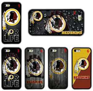 Washington Redskins Football Rubber Phone Cover Case For iPhone / Samsung / LG