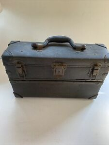 Vintage Salesmans Case Or Small Luggage Carry Case