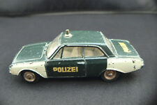 Dinky Toys F n° 559 ford Taunus Polizei police rare
