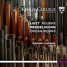 Liszt / Reubke / Mendelssohn / Stephen Cleobury - Organ Works [New SACD] Hybrid