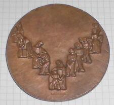 bronze medaille alt deutsche bundesbank relief  räsänen 1948 1968 bank top deko