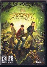 The Spiderwick Chronicles Game PC DVD-ROM Sierra 2008 Mint Free USA Shipping!