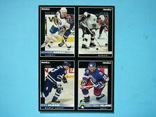 RARE 1992/93 PINNACLE NHL HOCKEY UNCUT PROMO CARD SHEET TEEMU SELANNE ROOKIE