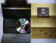 Frida Gold Juwel Rare Presskit + Adv CD + Gold Letter Orig Autographed!!!