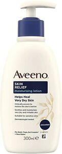 Aveeno Skin Relief Moisturising Lotion 300 ml for very Dry, Irritable Skin