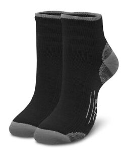 EDZ All Sport Merino Running Socks Black