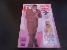 Tori Spelling, Arsenio Hall - TV Guide Magazine 1993