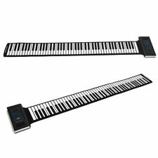 Roll Up Piano Electronik Keyboard Faltbar Klavier 88 Tasten Silikon Tastatur