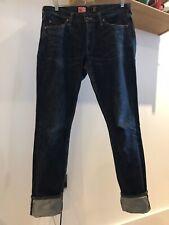 PRPS Noir (2011-13 era) Selvedge Indigo Denim Jeans - W35 L32.5; Made in Japan
