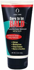 High Time Dare To Be Bald Scalp Treatment with Tea Tree Oil 4.75 oz 9pk