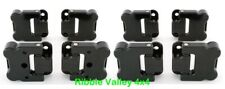 LAND ROVER DEFENDER 110 OPTIMILL SET OF 8 FRONT AND REAR DOOR HINGES BLACK