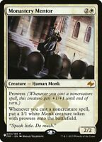 Magic the Gathering (mtg): The List: Monastery Mentor - Mythic Rare