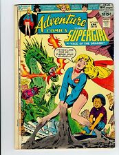 Adventure comics starring supergirl face of the dragon no.418 1972