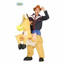 Cappello Cavallo Animale Fattoria Costume Festa Costume Accessorio Novità Divertente Equitazione NUOVO