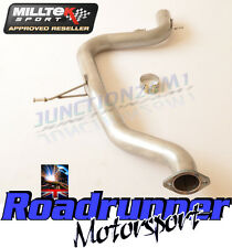 "Golf GTI MK5 Milltek Exhaust Stainless Non Res Centre Section Pipe 3"" MSVW352REP"