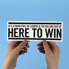 "Bruce Springsteen Sticker - ""Thunder Road"" bumper sticker! high hopes, e street"