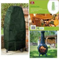 Heavy Duty Waterproof Large Garden Chimney Chiminea Rain Protection Cover Green