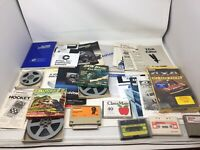 Lot of Old Random Gaming Stuff And Film, Manuals And 4x4 Off Road Racing Game