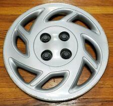 "(1) OEM Saturn SC SC1 Coupe 14"" 8-Spoke Bolt-On Hubcap Wheel Cover #0B 21011858"