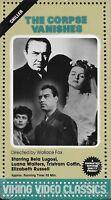 The Corpse Vanishes (VHS) Viking Video Classics Bela Lugosi NEW & SEALED! 1942