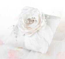 chic & shabby ring pillow ring bearer wedding pillow