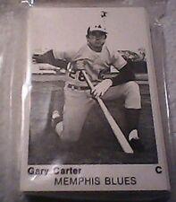 1975 TCMA International League All stars card set Gary Carter NRMT